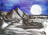 Moonlight over Egypt