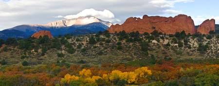Pikes Peak Fall Pano