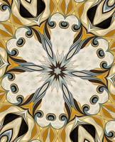 No. 18 - Blue Yellow Rosette Motif