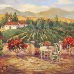 """Provence Vineyard"" by BarbaraRedingStudios"