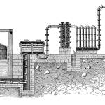 """Gas Plant"" by GilWarzecha"
