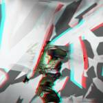 """Spaceman anaglyph 3D"" by Kosmopolites"