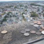 """Coins above a City"" by fairy"
