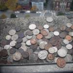 """Coins on a Ledge"" by fairy"