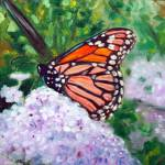 """Monarch butterfly study"" by fieldsendart"