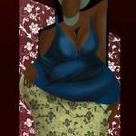 """""""womanwithafroanddress"""" by mokojumbie"""