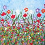 """Wildflower Field"" by wildlifeandabstractart"