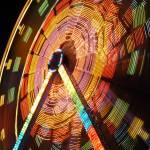 """""""Ferris Wheel in Motion"""" by raetucker"""