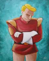 Contemplative Zapp Brannigan