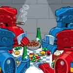 """Rockem Sockem Poker Night"" by magnes"