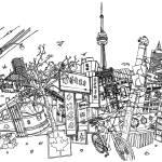 """Toronto!"" by davidbushell"
