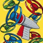 """""""Vintage Launcher Gun"""" by magnes"""