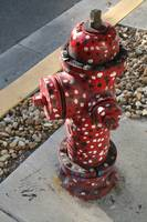Polka Dotted Fire Hydrant