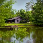"""Cabin by the Pond"" by jeannesheridan"