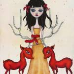 """""""Deerheart"""" by LeaBarozzi"""