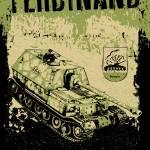 """Ferdinand tank"" by tankterror"
