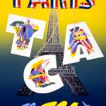 """Travel Paris, Fly TCA"" by dalidayna"