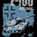 """E-100 Nachtjager"" by tankterror"
