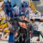 """Flying Man Over Chicago 2"" by Wyldspace"