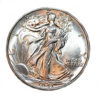 Walking liberty 1941 R coin