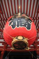 Giant Red Lantern Outside Sensoji Temple