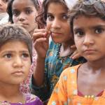 """Refugee Girls in Shikarpur, Pakistan"" by GrayScale"