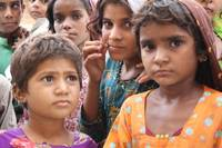 Refugee Girls in Shikarpur, Pakistan