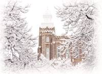 Logan Utah LDS Temple I by David Kocherhans