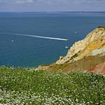 """Alum Bay from West High Down (24988-RDA)"" by rodjohnson"