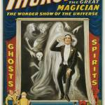 """Howard Thurston - The Great Magician Wonder Show"" by ArtLoversOnline"