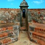"""Old San Juan Gaurd Post"" by PerryWebster"
