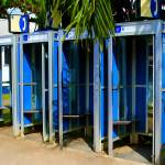 """Blue Phone Booths"" by PerryWebster"