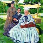 """Friendly Ladies in the Park by Riccoboni"" by BeaconArtWorksCorporation"