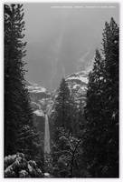 Yosemite Snow Waterful