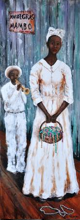 MARDI GRAS MAMBO  SOUTHERN ART  NEW ORLEANS AFRICA