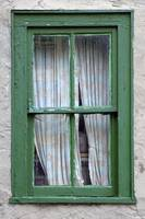 Old Green Window