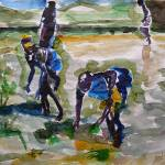 """Farm Workers"" by AbinRaj"