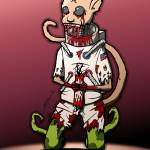"""""""Zombie Space Monkey"""" by sg-designs"""