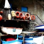 """""""Cinque Terra Boats"""" by raetucker"""