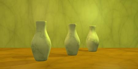 Three Vases II