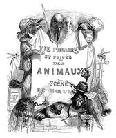 Grandville's Animals Title Illustration