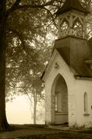 Old Church on a Misty Morn