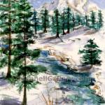 """Mt.Stream Winter"" by MannellGallery"