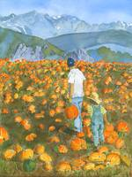 Pumpkin Patch, father and son search for that perf