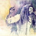 """Bob Marley"" by shevchukart"