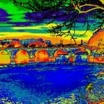 """""""Le Pont de Sommières"""" by VolkerBaecker"""