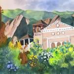 """""""Spirit of Chautauqua with Lingering Memories of Mu"""" by vickeysart"""