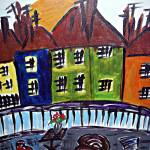 """City Rooftops"" by magnoliadorn"