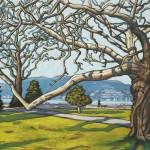 """""""Catalpa Tree, Jericho Park"""" by wolodko"""