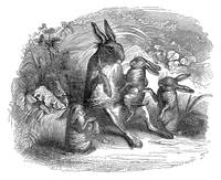 The Old Hare with His Grand Children